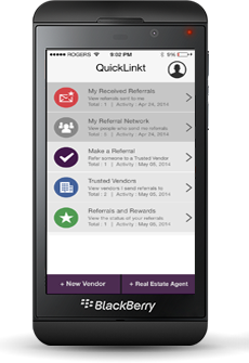 QuickLinkt Referral App