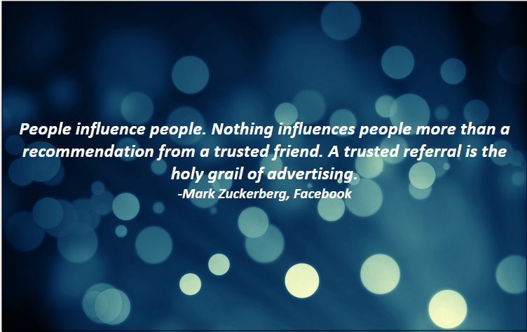 5 referral marketing quotes to inspire clientlinkt blog mark zuckerberg the referral engine quote colourmoves